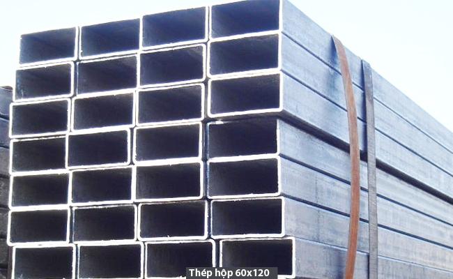 Thép hộp 60x120