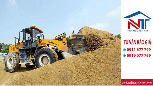 Niềm tin vững vàng khi lựa chọn đúng cát xây dựng