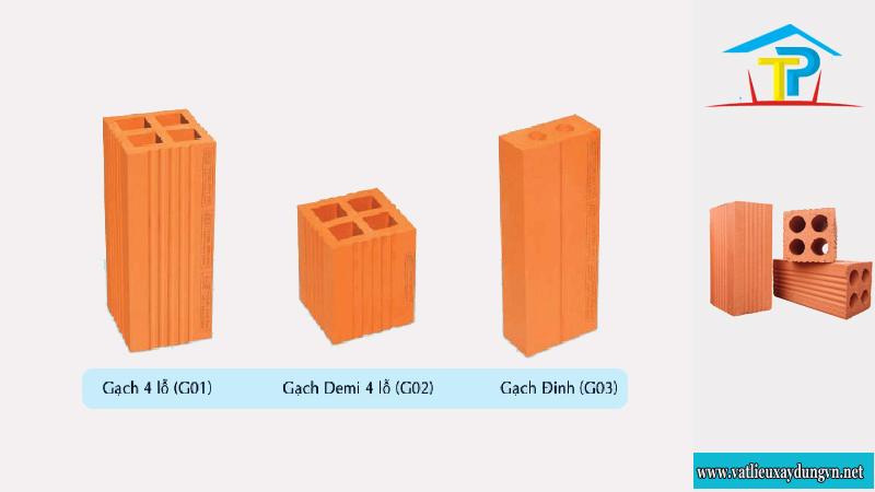 Giá gạch xây dựng loại gạch ống 4 lỗ bao nhiêu 1 thiên?