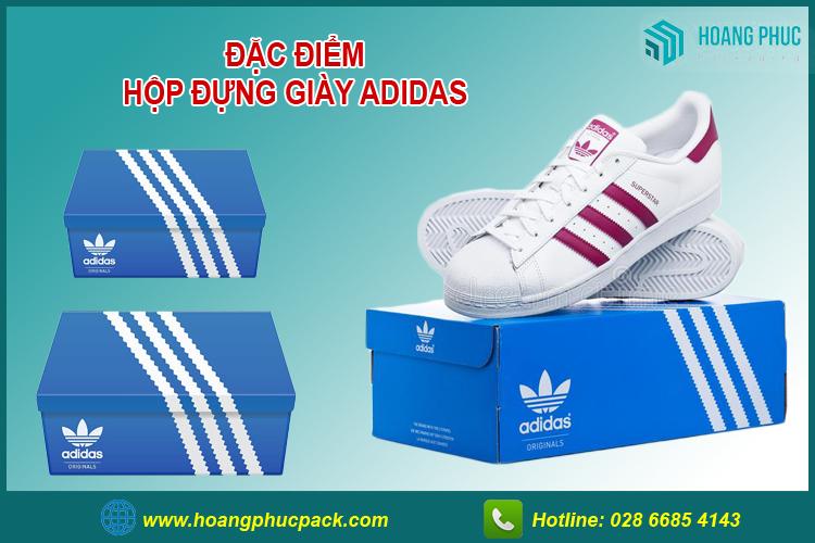 Hộp đựng giày adidas