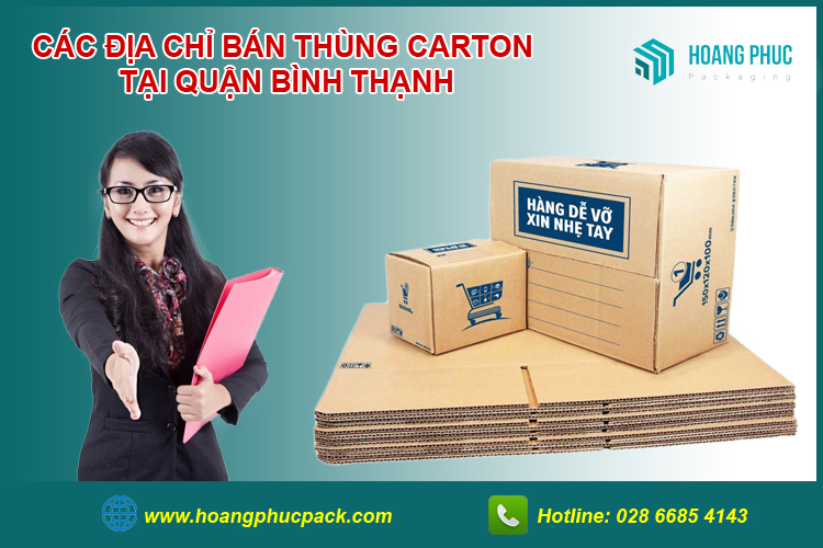 Bán thùng carton Bình Thạnh