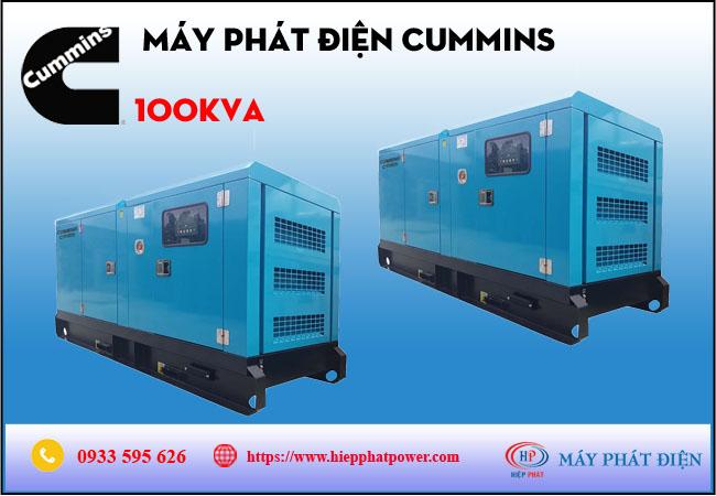 Máy phát điện cummins 100kva